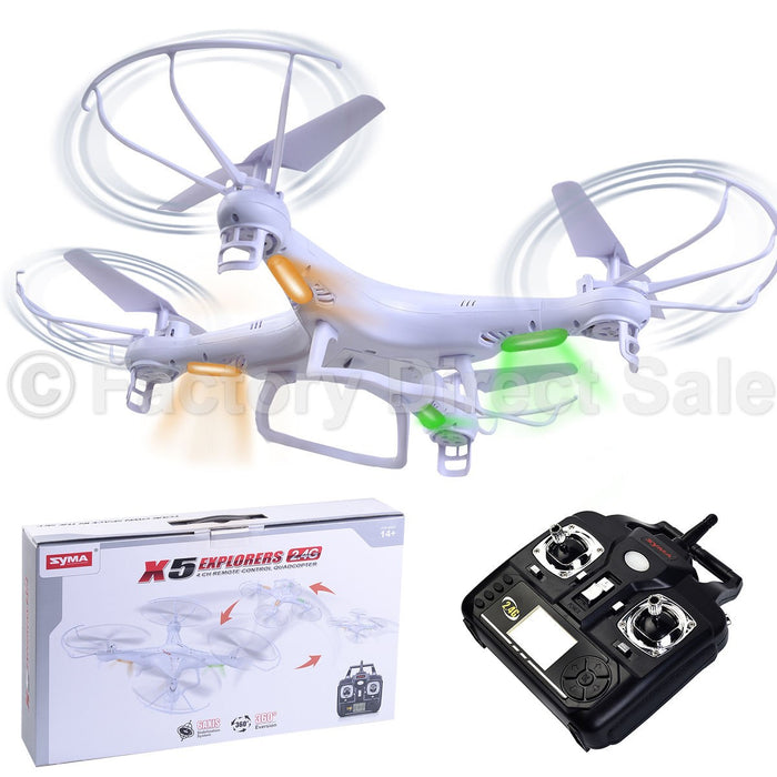 X5 Explorers Remote Control Quadcopter by Syma