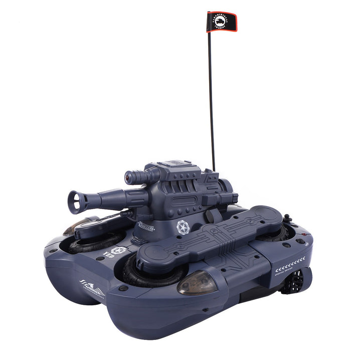 Remote Control Amphibious Tank with Water Cannon