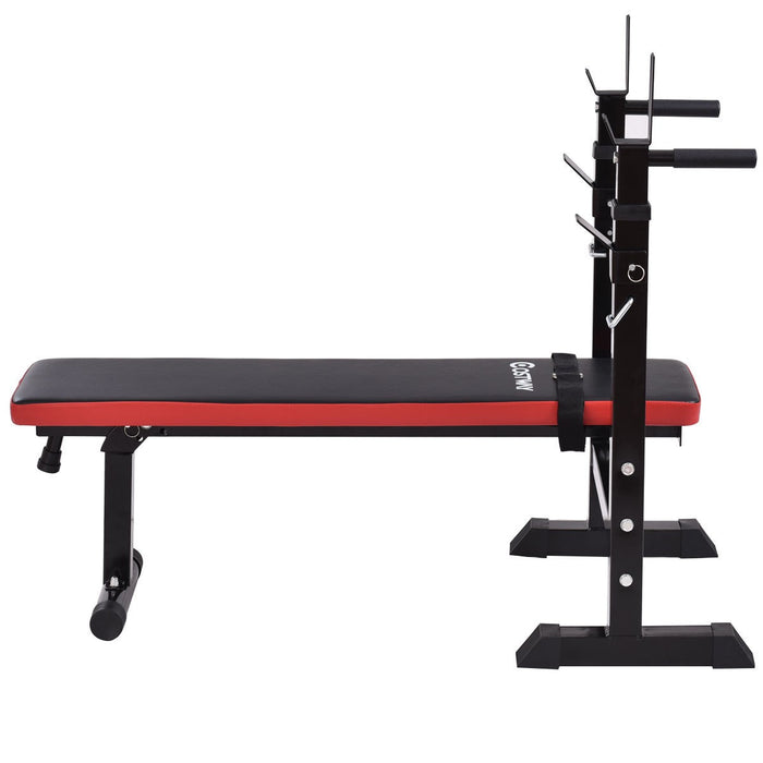 Folding Adjustable Weight Bench