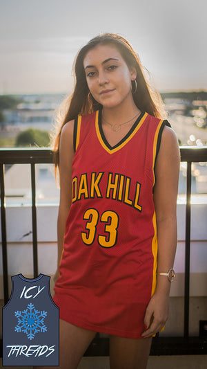 "Kevin Durant ""Oak Hill"" 33 Basketball Jersey - Icy Threads LLC"