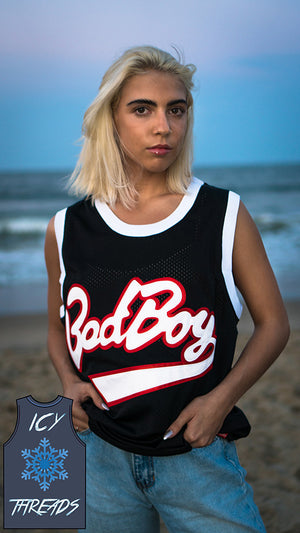 "Biggie Smalls ""Bad Boy"" 72 Basketball Jersey - Icy Threads LLC"