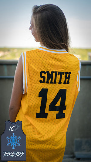 "Will Smith ""Bel Air Academy"" 14 Basketball Jersey - Icy Threads LLC"