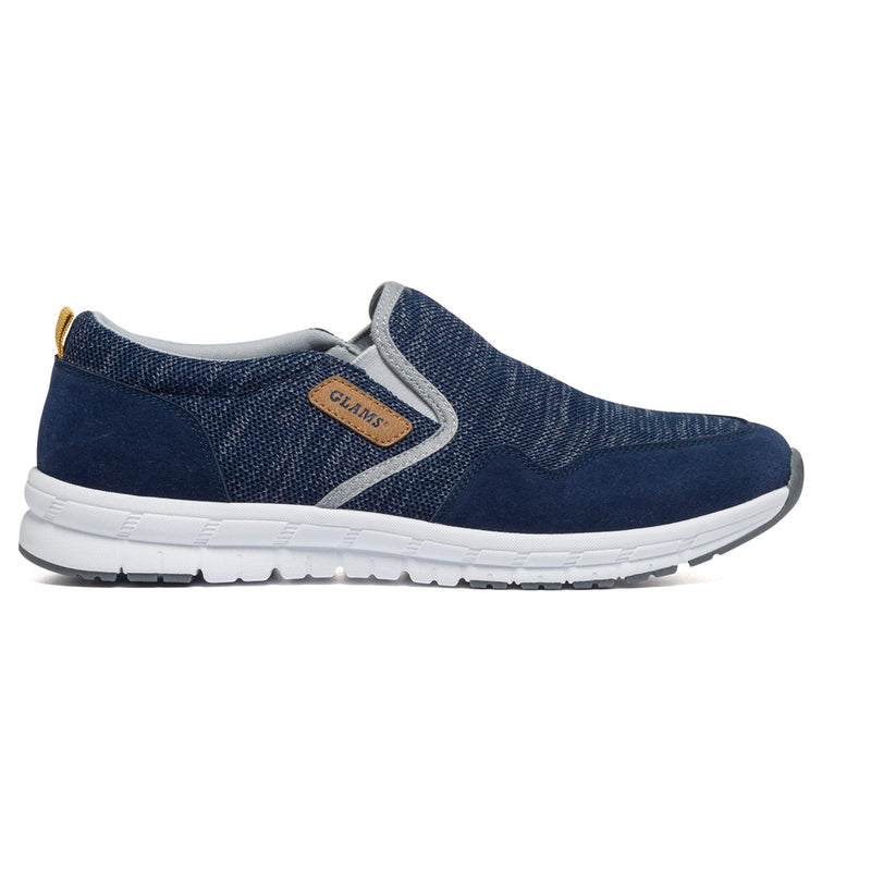 Sneakers slip-on Glams, Sneakers Uomo, SKU m113000001, Immagine 0