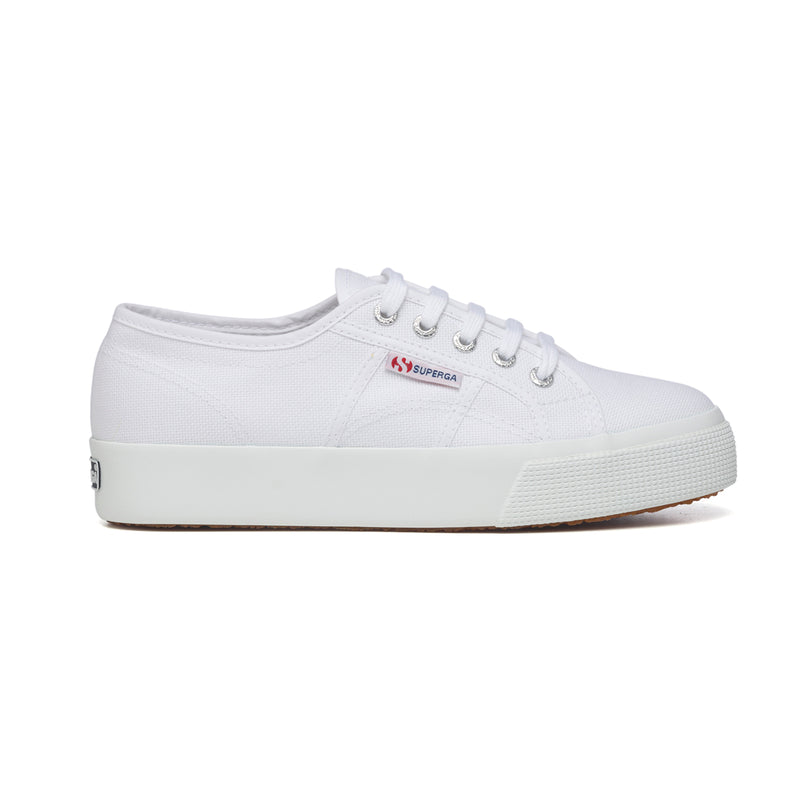 Sneakers bianche in canvas Superga 2730 Cotu, Sneakers Sport, SKU s311500051, Immagine 0