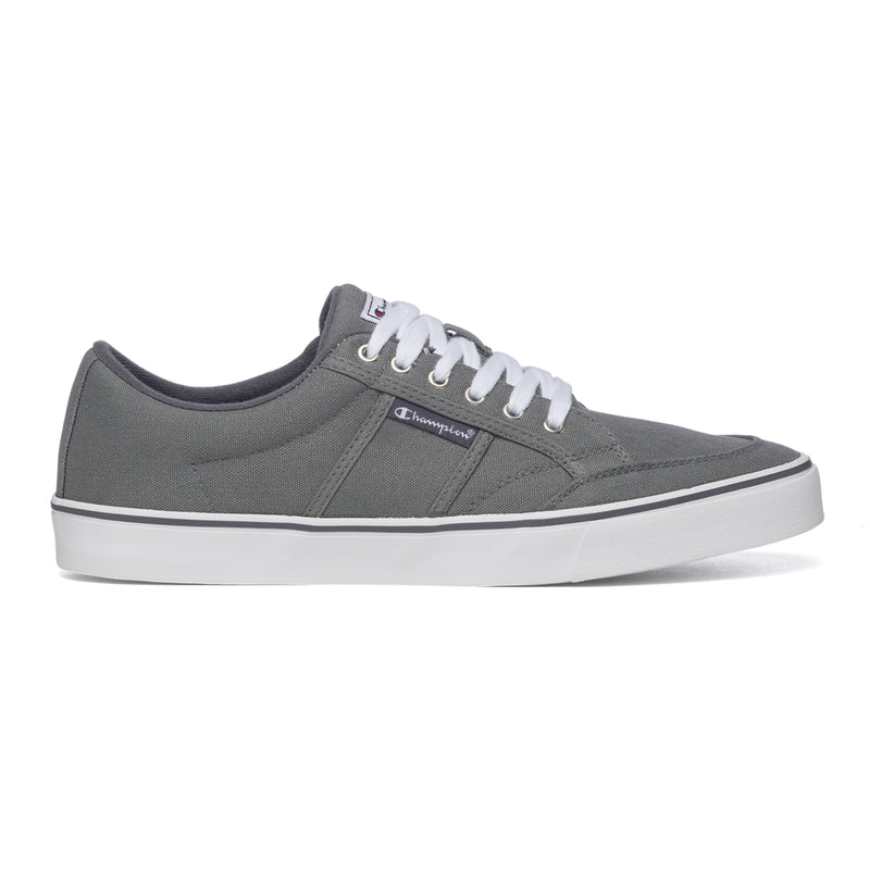 Sneakers grigie in canvas con logo laterale Champion Placard, Brand, SKU s321500004, Immagine 0