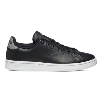 Sneakers nere in pelle e similpelle con strisce traforate adidas Advantage, Brand, SKU s324000076, Immagine 0