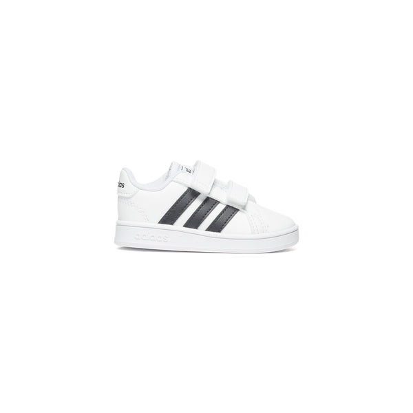 Sneakers bianche con strisce a contrasto Adidas Grand Court I, Brand, SKU s334000033, Immagine 0