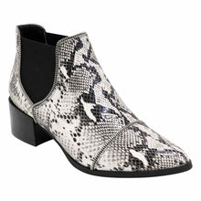 Load image into Gallery viewer, Mollini, Diesels, Black and white snake skin boots