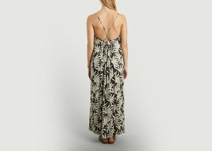 My Sunday Morning, Vaina Dress - Palm Print