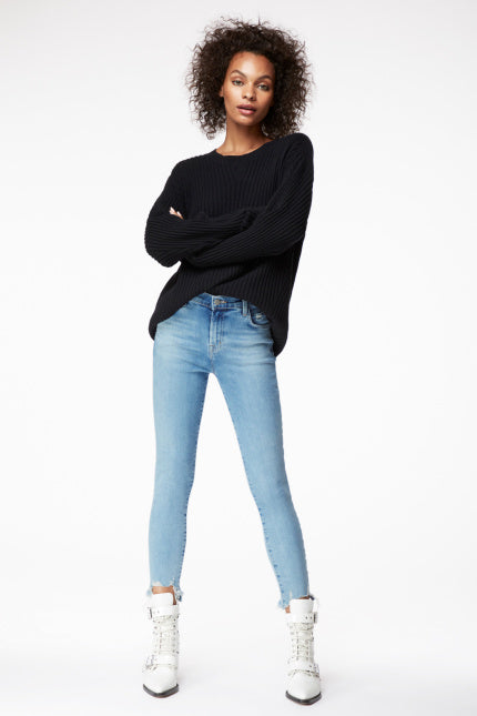 J Brand, Alana High-Rise Cropped Super Skinny In Teardrop