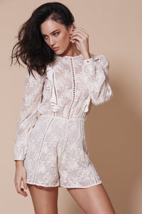 WINONA- Havana Long Sleeve Playsuit
