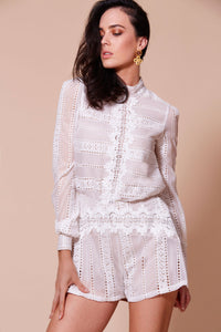 WINONA- Alhambra Playsuit - White Lace