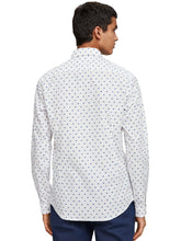 Load image into Gallery viewer, SCOTCH & SODA - Slim fit shirt - White/ blue