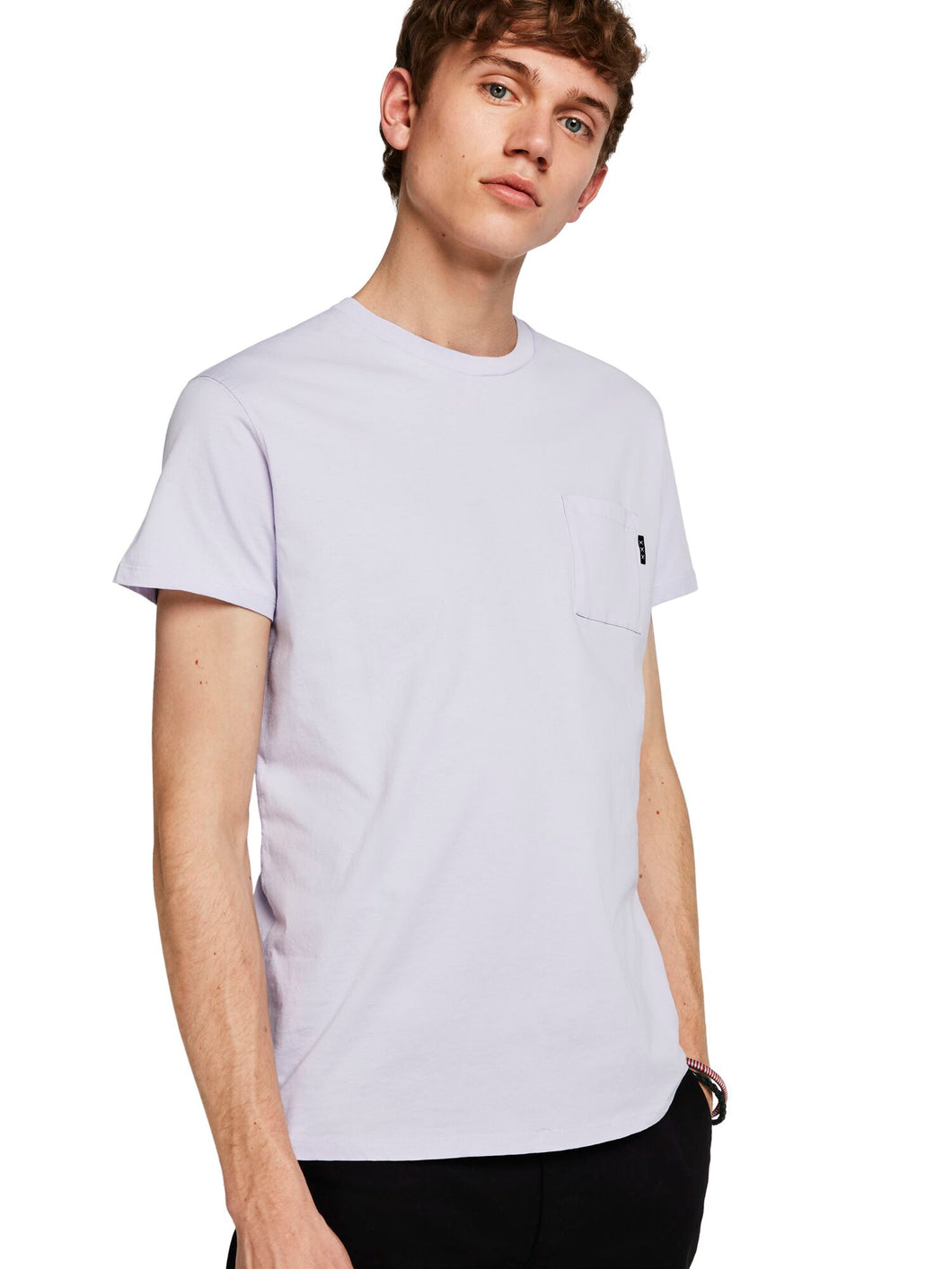 SCOTCH & SODA - Pocket Tee - Lavender