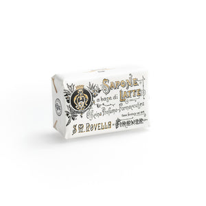Santa Maria Novella, Milk Soap, Rosa fragrance - single bar