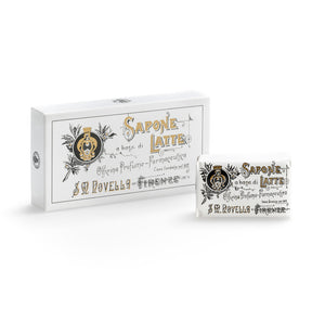 Santa Maria Novella, Milk Soap, Milk Soap, Gardenia fragrance - box of 3 bars
