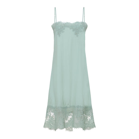 Rabens Saloner, Cathleen Fragile lace dress, Pale Blue