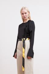 Brigitte Herskind, Flawless Blouse, Black - Amelie & Franks
