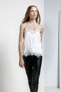 Magali Pascal , Libertine Cami, Off White