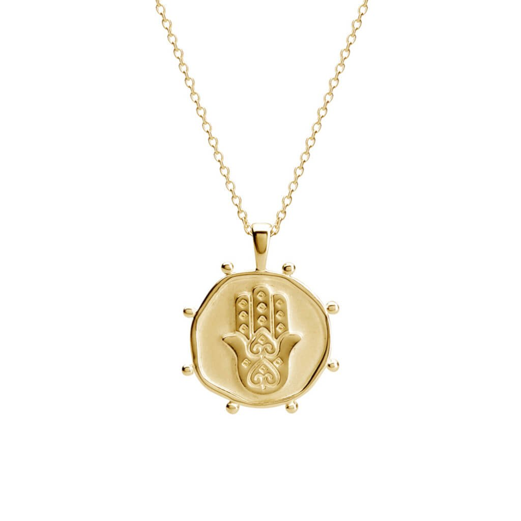 Murkani, Freedom Protect Necklace, 18KT Yellow Gold