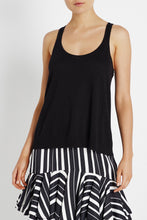 Load image into Gallery viewer, SASS & BIDE - sweet sound knit tank - Black