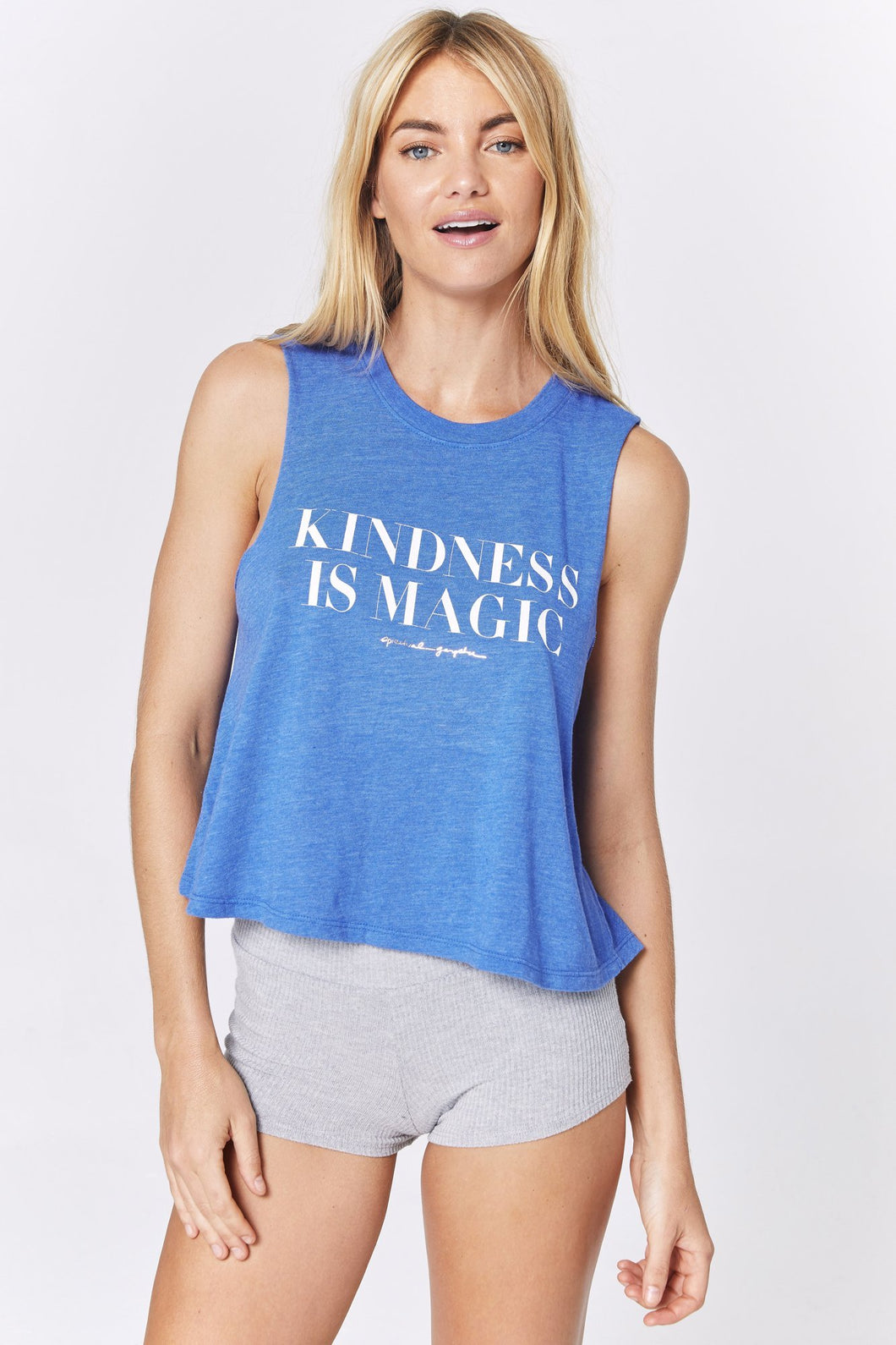 SPIRITUAL GANGSTER Kindness Crop Tank