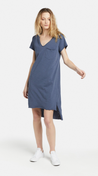 jac + mooki, Helena dress - indigo