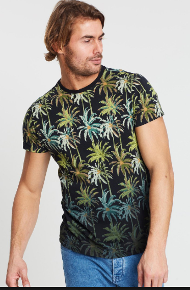 Scotch & Soda, Mens The Poolside Tshirt