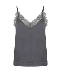 LOVE STORIES, Camelia Top - Grey