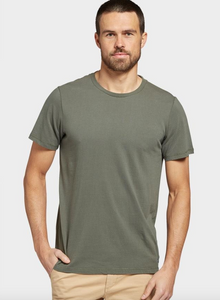 The Academy Brand, Blizzard Wash Tee, Khaki