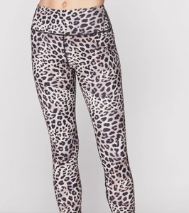 SPIRITUAL GANGSTER - Cheetah Perfect Legging, Brown
