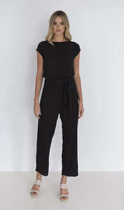 HUMIDITY LIFESTYLE, Capri Jumpsuit, Black