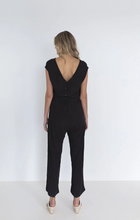 Load image into Gallery viewer, HUMIDITY LIFESTYLE, Capri Jumpsuit, Black