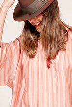 Load image into Gallery viewer, MES DEMOISELLE Sunlight Combo Blouse - Nude