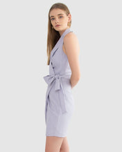 Load image into Gallery viewer, Carver, Joelle Wrap Dress, Lilac