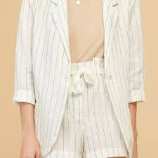 MAGALI PASCAL Joly Jacket - White Stripe