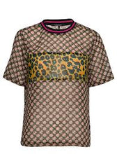Load image into Gallery viewer, SCOTCH & SODA Mix Print Top with Rib Detail