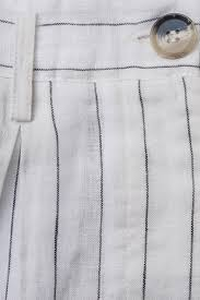 MAGALI PASCAL Safari Pants - White Stripe