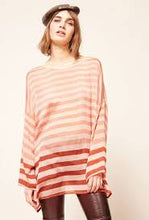 Load image into Gallery viewer, MES DEMOISELLE Sunrise Silk Tunic -  Nude Combo