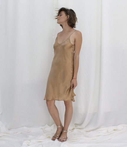 Mes Demoiselle Leonie dress, Noisette
