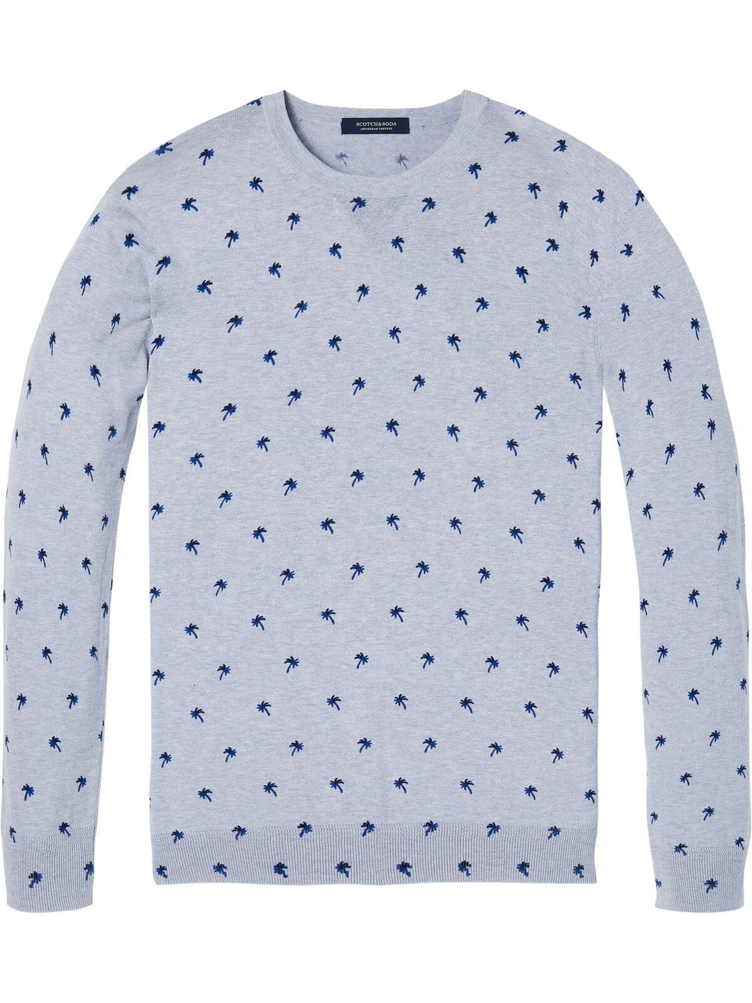 Scotch & Soda, Crewneck pullover with palm trees - Combo B