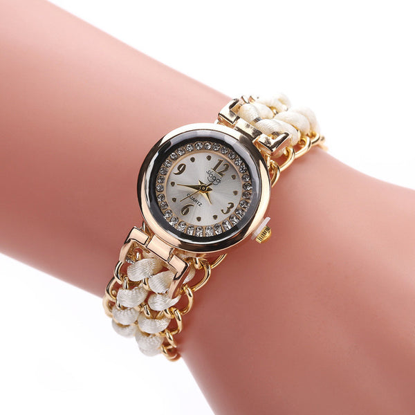 Rope and Chain Wrist Watch