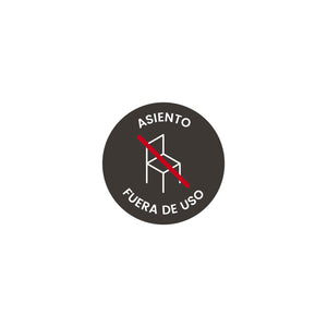 VK01 · Vinilo asiento a suelo (Pack 2 ud.)