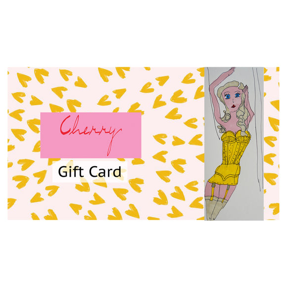 Gift Card - Cherrylingerie