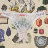 Serenity Strontianite White Knickers - Curiosities Crystals Collection