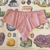 Rachel Rose Quartz Pink French Knickers - Curiosities Crystals Collection