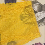 Alexa Amber Yellow Knickers - Curiosities Crystals Collection