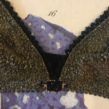 Olivia Ore Gold & Black Bralette - Curiosities Crystals Collection
