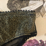 Olivia Ore Gold & Black Knickers - Curiosities Crystals Collection