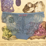 Quentina Quartz Turquoise Knickers - Curiosities Crystals Minerals Collection